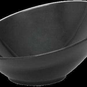 82314 Bowl Inclinado Melanina Negra