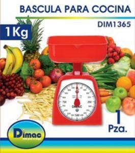 BASCULA DE COCINA 1 kg