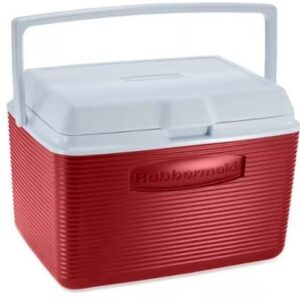HIELERA 5 QT ROJA RUBBERMAID